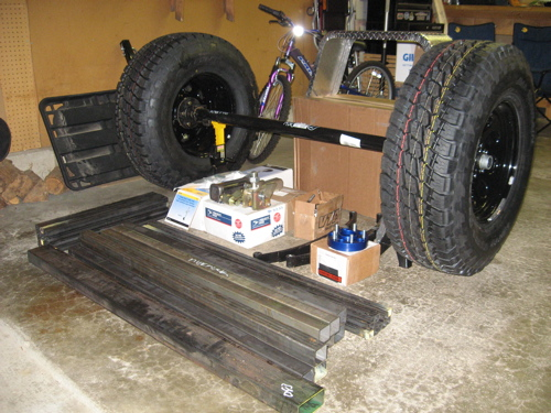 Pile of parts for my DIY trailer | Expedition Portal