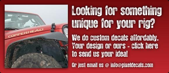 Custom Work - Contact Us!