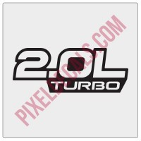 2.0L Turbo Decal