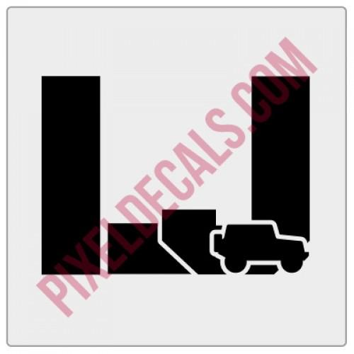 LJ Stencil w/ icon