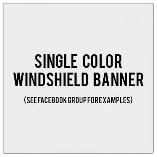 Arizona's Jp Girls Windshield Banner Decal