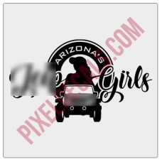 Arizona's Jp Girls Logo Decal