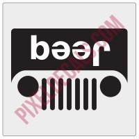 Beer Jp Grille Decal