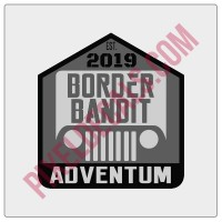 Border Bandit Badge Decal