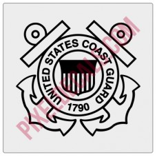 US Coast Guard Logo Decal