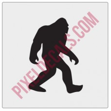 Sasquatch Windshield Chaser Decal