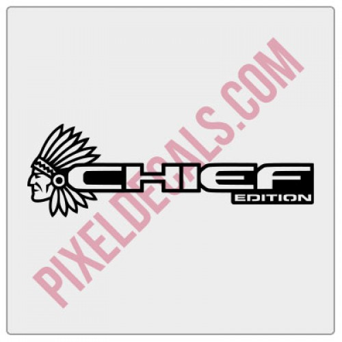 2018+ JL/JT Chief Edition Decal (Pair)