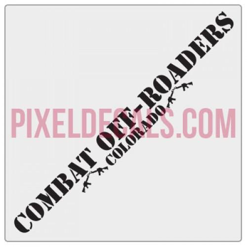 CCOR Combat Off-Roaders Banner