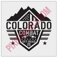 Colorado Combat Offroad Logo Decal