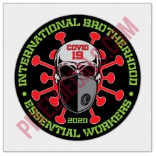 Covid-19 Brotherhood Decal