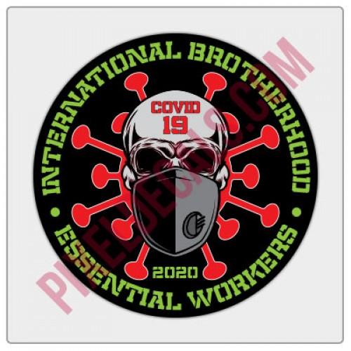 Covid-19 Brotherhood Decal