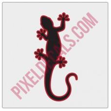 Gecko Decal - 2 Color (V1)