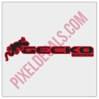 Gecko Edition Decal 2-color (Pair)