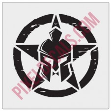 Gladiator Invasion Star Decal