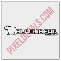 JL Black Bear Edition Decal (Pair)