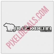 Black Bear Edition Decal (Pair)