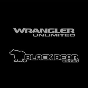 JL Black Bear Edition Decal (Pair)