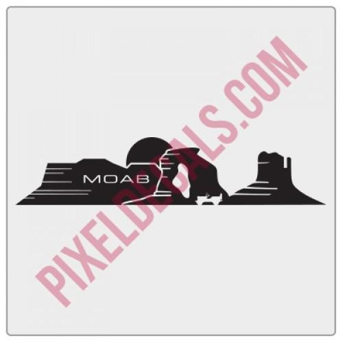 Dashboard Moab Decal (V1)