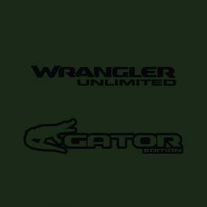 JT Gator Edition Decal (Pair)