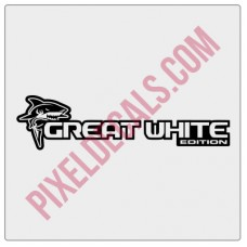Great White Edition Decal (Pair)