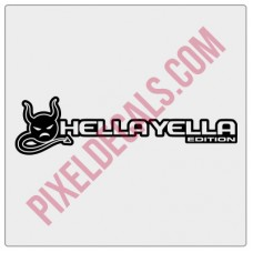 JL Hella Yella (Devil) Edition Decal (Pair)