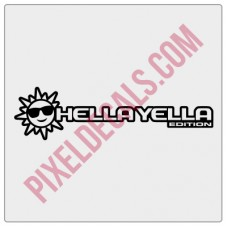 JL Hella Yella (Sun) Edition Decal (Pair)