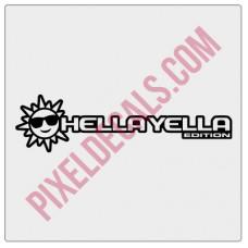 Hella Yella (Sun) Edition Decal (Pair)