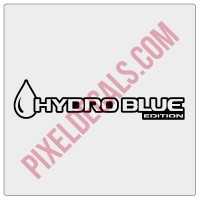 JT Hydro Blue Edition Decal (Pair)