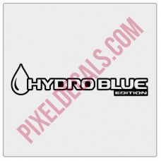 Hydro Blue Edition Decal (Pair)