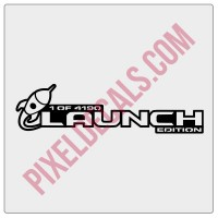 JT Launch Edition Decal (Pair)
