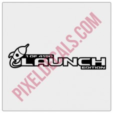 Launch Edition Decal (Pair)