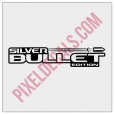 Silver Bullet Edition Decal (Pair)