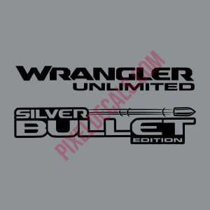JL Silver Bullet Edition Decal (Pair)