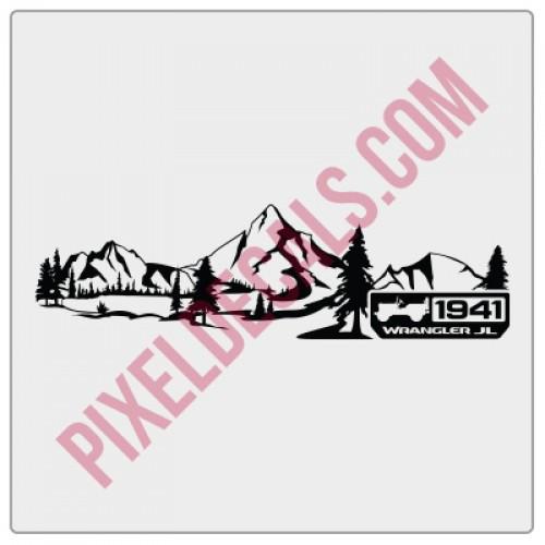 JL Dashboard Mountain w/ 1941 Decal (V2)