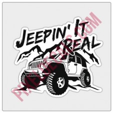 Jpin' It Real Decal