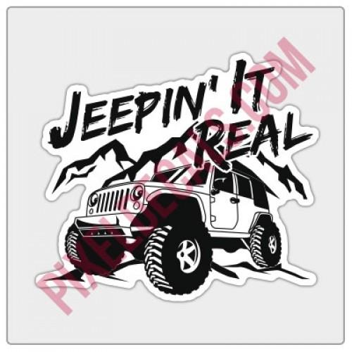 Jpin' It Real Decal