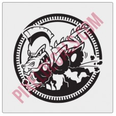 Gator Gladiator Decal - 1 color