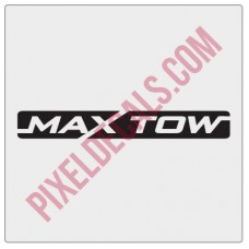 Max Tow Decal