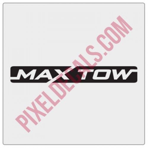 JT Max Tow Decal
