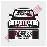Kendrick Castillo Memorial Decal
