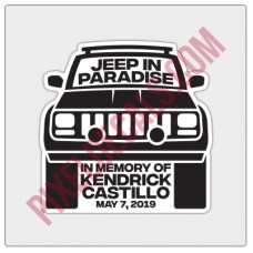 Kendrick Castillo Memorial Decal