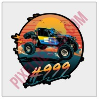 Lite Brite Nation Ultra 4 #999 Decal