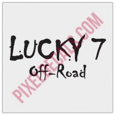 Lucky 7 Offroad Decal