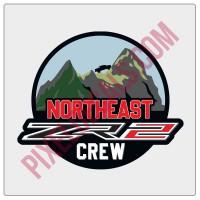 Northeast-ZR2-Crew-Round-Decal