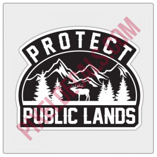 Protect Public Lands Decal
