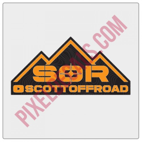 ScottOffroad Logo Decal