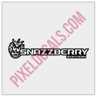 Snazzberry Angry Face Edition Decal (Pair)