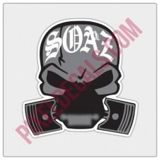 SOAZ Logo Decal