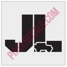 JL Stencil w/ icon