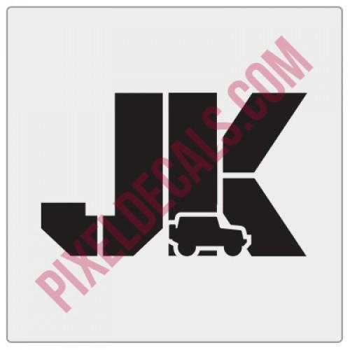 JK Stencil w/ icon